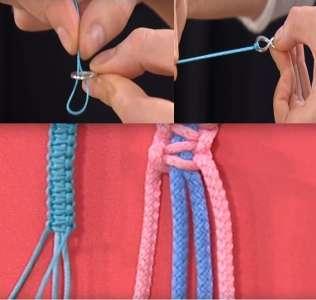 Плетение восьмерка