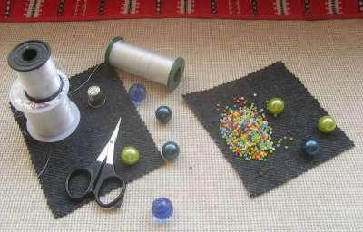 Все, что нужно для вышивания бисером