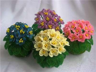 Цветы из бисера  схемы плетения для новичков — Дневник Страдостеи ef414d878e2e4