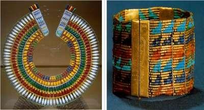 Древнеегипетские украшеня из бисера