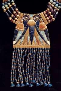 Древнеегипетское украшение из бисера