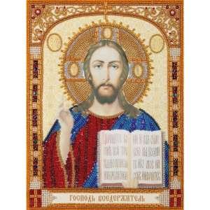 Икона Господь Вседержитель. Набор для вышивания бисером