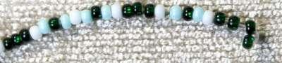 Плетение медальона. Шаг 2