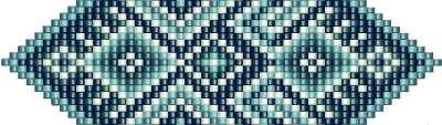 Схема плетения ленты Гердана