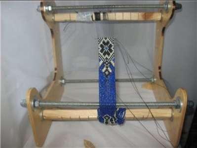 Станок для плетения гердана из бисера