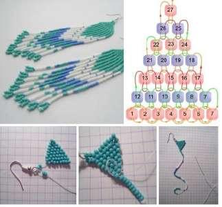 Схемы из бисера своими руками со схемами