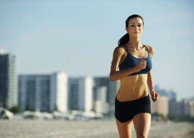 Бег для похудения. Мышцы при похудении