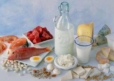 Белковые низкокалорийные продукты