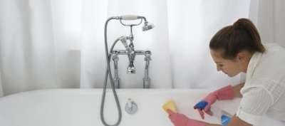 Белоснежная ванна