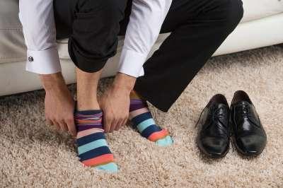 Когда мужчина не может найти свои носки