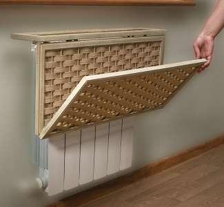 Один из вариантов маскировки радиатора