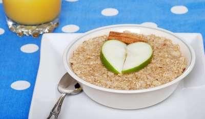 Полезный завтрак. Овсяная каша