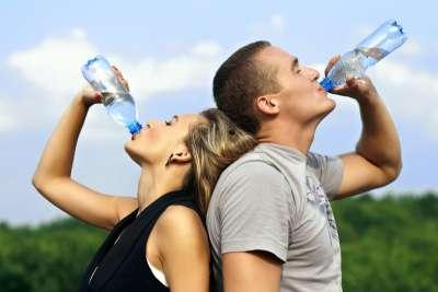 Рацион должен содержать минимум 2 литра воды