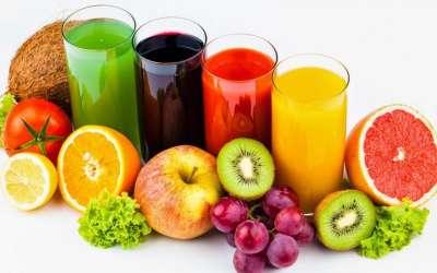 Свежевыжатые соки - кладезь витаминов