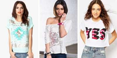 Модные футболки и топы