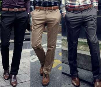 Мужские брюки – сезонные особенности