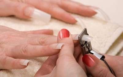 наращивание ногтей с типсами и гелем